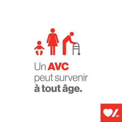 Un AVC peut survenir à n'importe quel âge (Groupe CNW/Fondation des maladies du cœur et de l'AVC)