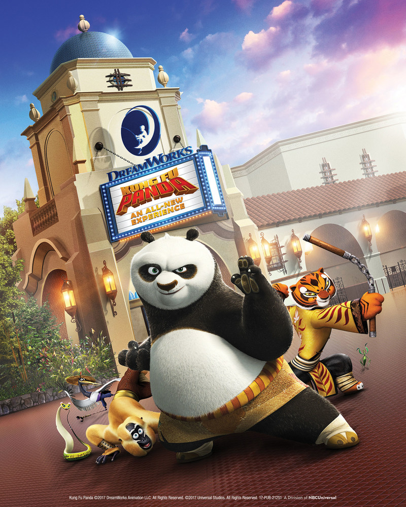 universal studios hollywood dreamworks fu kung panda characters animation entertainment favorite attraction park theme headline continues capital kicking