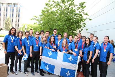 Photo : Compétences Québec (Groupe CNW/Compétences Québec)