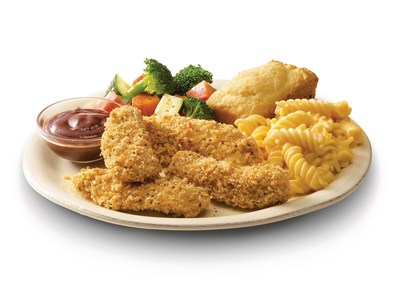 Available now through Aug. 13, new Boston Market Oven-Crisp Chicken Strips are hand-breaded, all-white, all-breast meat chicken strips that are baked – not fried – for a healthier, crispier crunch.