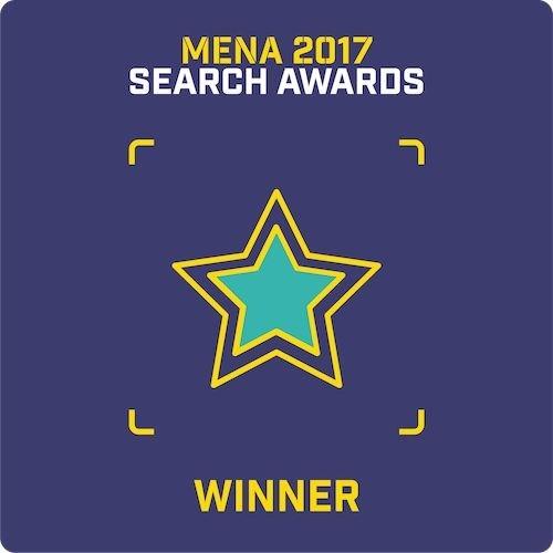 Mena Search Awards – Best Integrated Campaign (PRNewsfoto/Nexa)