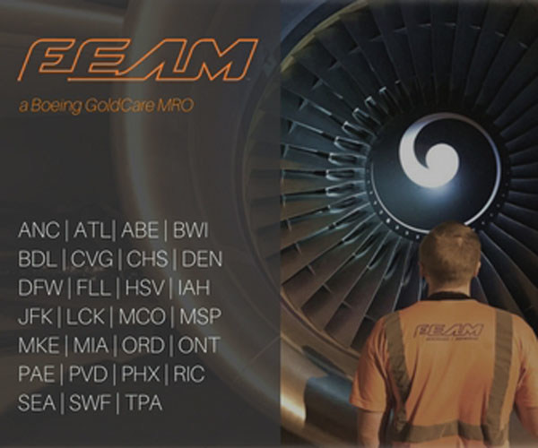FEAM, a Boeing GoldCare MRO