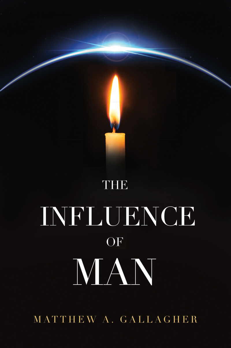 "Cover image for ""The Influence of Man,"" featured on paperback and hardcover copies. Book releasing 7/1/17."