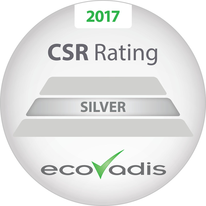 SI Group ranks in the top 10 percent for global corporate social responsibility. The company receives its second silver award from EcoVadis on World Environment Day, June 5.