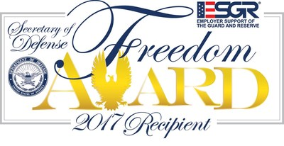 Hensel Phelps is honored to be one of the 15 recipients of the 2017 Secretary of Defense Employer Support Freedom Award.