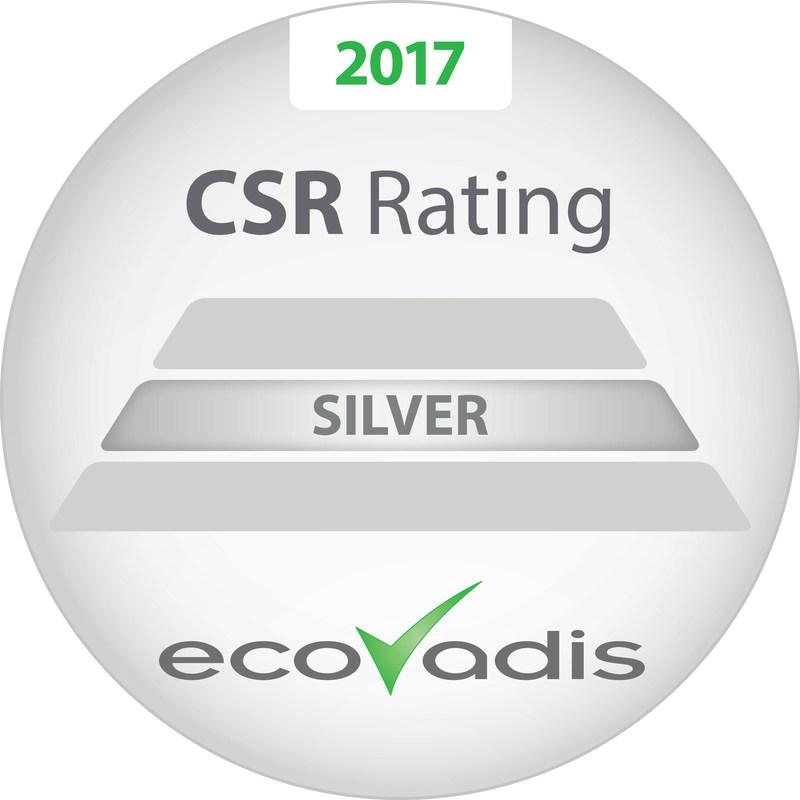 SI Group se ubica entre el 10% superior en responsabilidad social corporativa global. La compañía recibe por segunda vez el premio de plata de EcoVadis en el Día Mundial del Medio Ambiente, el 5 de junio.