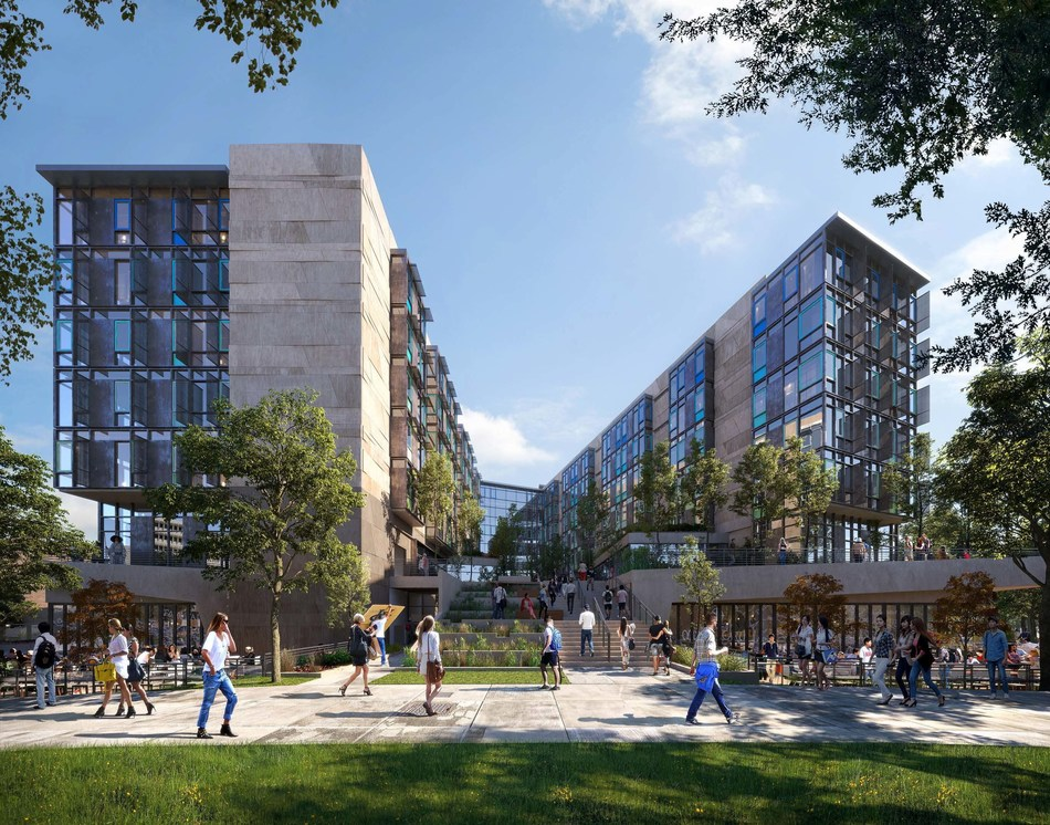 The Hensel Phelps | Mithun team will kick off the University of California, Irvine (UCI) – Middle Earth Expansion Student Housing project in June 2017. (Photo credit: Plompmozes)