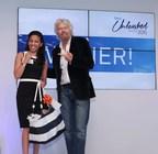 Sir Richard Branson at the Talent Unleashed Awards (PRNewsfoto/Talent)