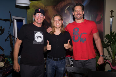 Matthew Lillard, Dylan Sprouse and Joe Manganiello helped unveil the new Dungeons & Dragons storyline, Tomb of Annihilation, during a live streaming event in Seattle this weekend.