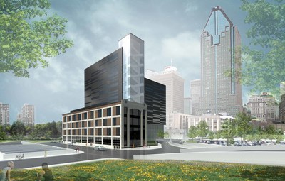 As of July 1, 2017, a new state-of-the-art 30 MW data centre in downtown Montreal, an Urbacon project, in partnership with Fonds immobilier de solidarité FTQ. (CNW Group/Fonds de solidarité FTQ)