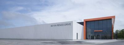 DC1 à Richmond Hill est l'un des centres de données les plus sophistiqués au Canada avec 10MW de puissance critique. (Groupe CNW/Fonds de solidarité FTQ)