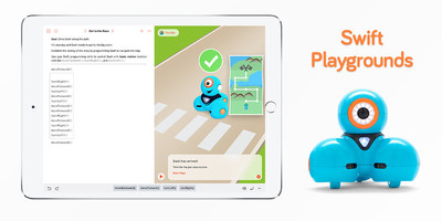 Popular Educational Robot Accessible to More Young Learners Through New Integration with Swift Playgrounds Coding App
