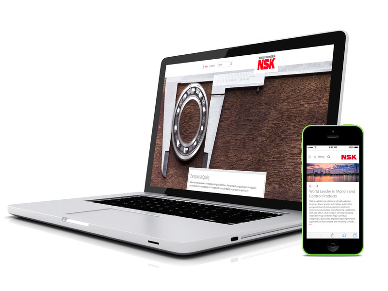 New NSK website allows engineers and purchasers to easily access what they need, when they need it. (CNW Group/NSK Americas)