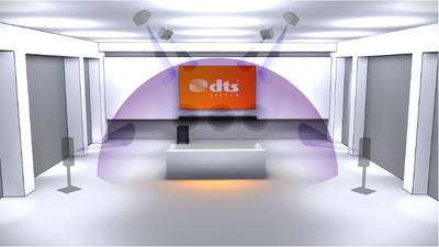 DTS Virtual:X technology can be implemented in a variety of products to provide an immersive sound experience without the need for additional speakers.