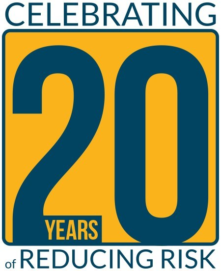 Celebrating 20 years of reducing risk