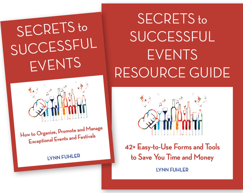 Secrets to Successful Events: How to Organize, Promote and Manage Exceptional Events and Festivals book cover