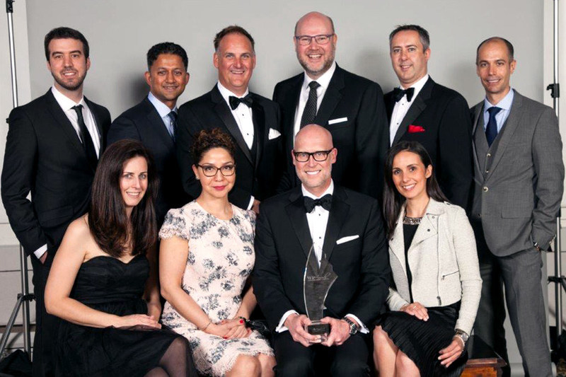 Franklin Templeton Investments Canada received the Equisoft award for Fund Provider of the Year at the Wealth Professional Awards gala. (CNW Group/Franklin Templeton Investments Corp.)