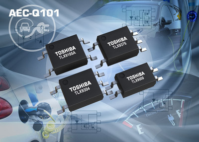 Toshiba's new range of 10 AEC Q101-qualified photocouplers addresses the demanding isolation, interface, switching, and form factor requirements of automotive applications.