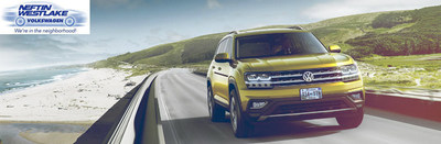 All-new 2018 Volkswagen Atlas available at Neftin VW