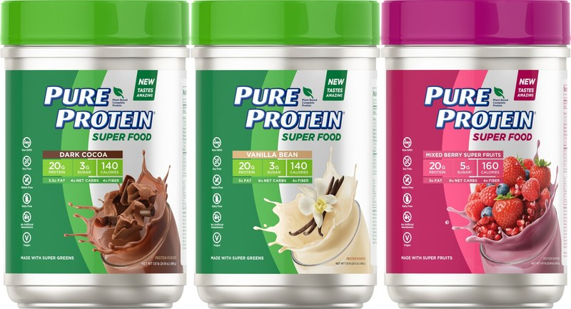 Pure Protein® Launches New Super Food Plant-Based Protein Powder