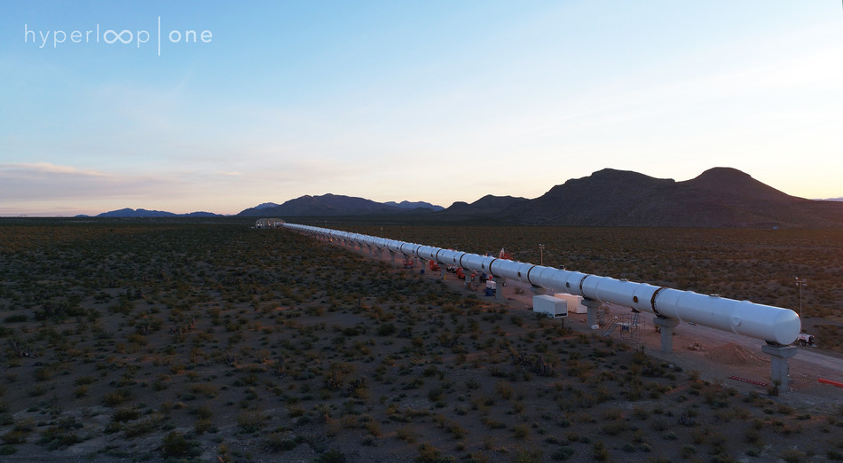 Hyperloop One is the only company in the world that has built a fully functional Hyperloop system
