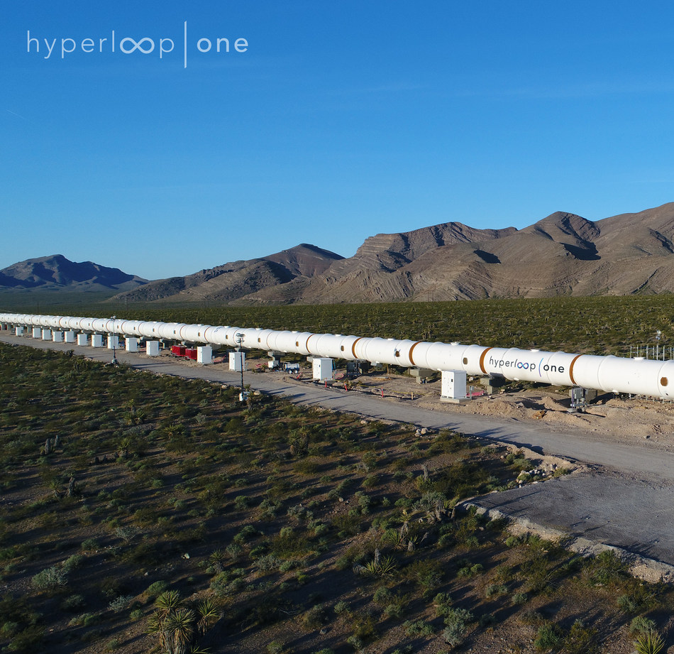 Hyperloop One is the only company in the world that has built a fully functional Hyperloop system.