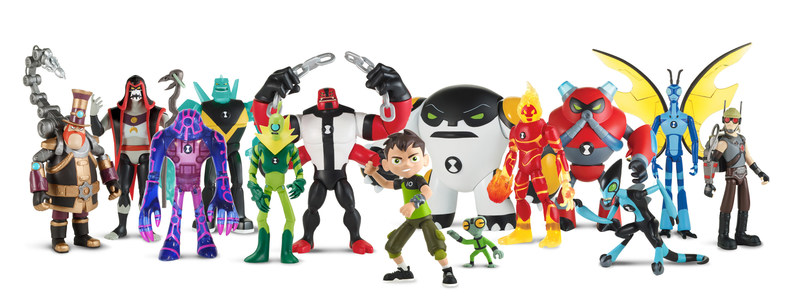 Toy Line from Playmates Toys Based on Cartoon Network's New Ben 10 Animated Series