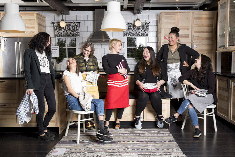 IKEA Canada launches handmade collection co-created with social enterprise in Toronto (CNW Group/IKEA Canada)