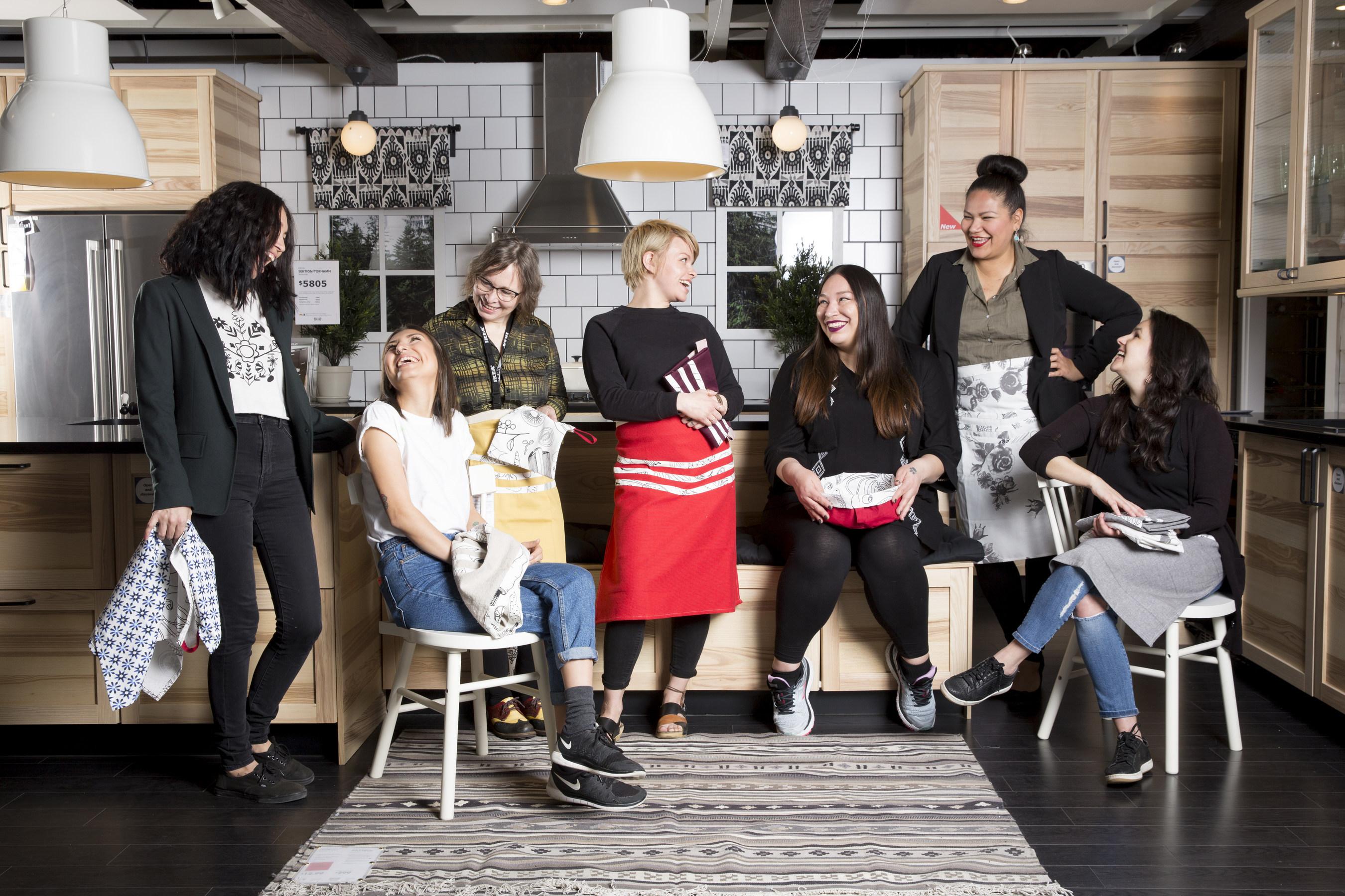 cnw ikea canada lance une collection de produits faits la main co cr e avec une entreprise. Black Bedroom Furniture Sets. Home Design Ideas