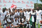 Obafemi Martins Opened MoneyGram GOAL Tournament