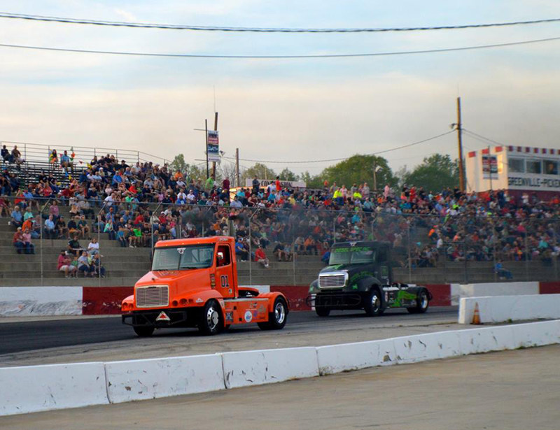 """""""Fans pack Greenville-Pickens Speedway in Easley, South Carolina April 15, 2017."""""""