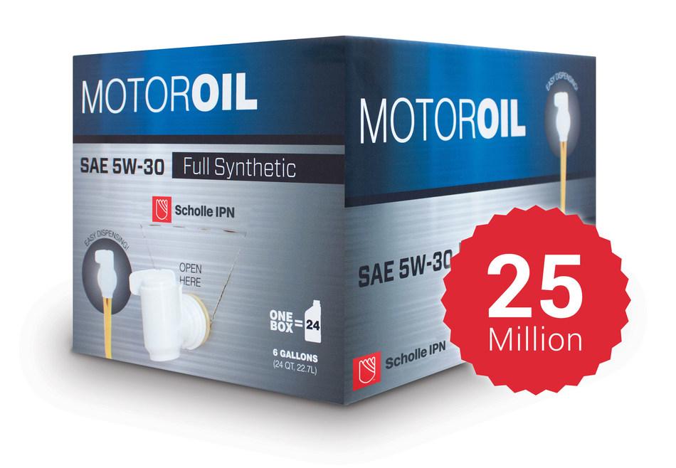 A embalagem de bag-in-box para líquidos automotivos da Scholle IPN ganhou diversos prêmio desde o seu lançamento em 2008.