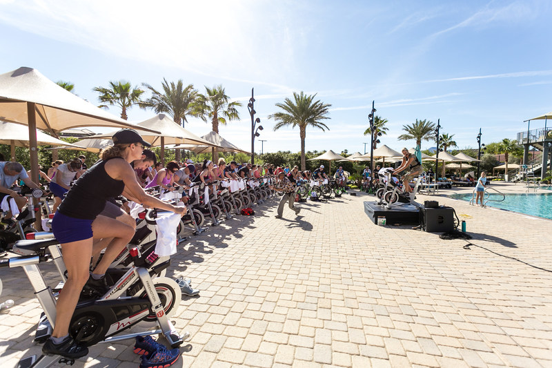 The second annual Ride for a Reason event, hosted at nationwide Life Time destinations, raises more than $750,000 for St. Jude Children's Research Hospital and Life Time Foundation.