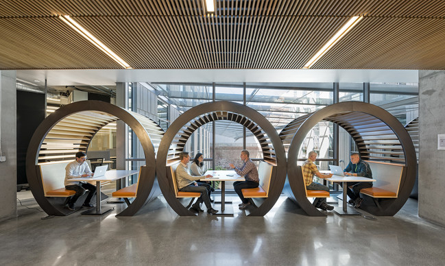 Splunk's San Francisco Headquarters, designed by Revel Architecture & Design