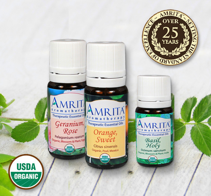 Amrita Aromatherapy offers the world's largest selection of organic essential oils. Essential oils for healing ought to be organic if at all possible.