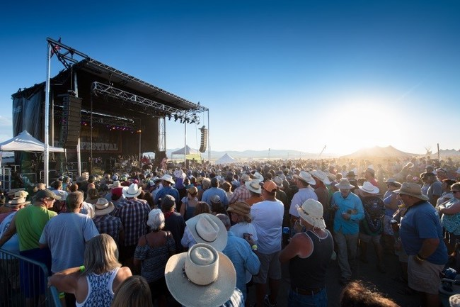 Red Ants Pants Music Festival in White Sulphur Springs, Mont. (PRNewsfoto/Montana Office of Tourism)