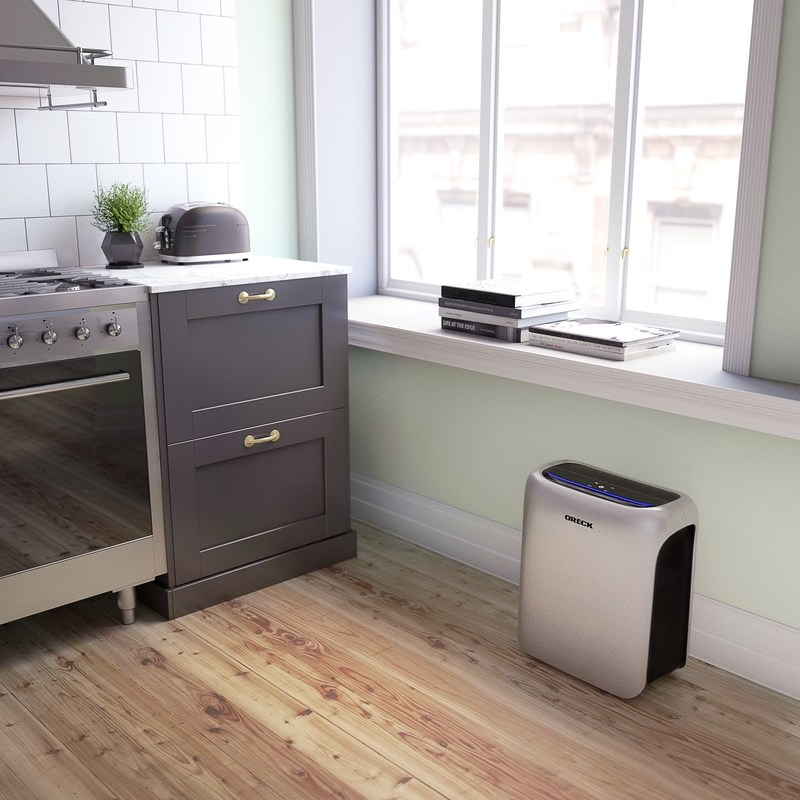 DustSense™ technology sets the Air Response line apart from most other air purifiers, automatically monitoring, detecting and responding to particles in the home's air, improving air quality even when occupants aren't home, are sleeping or are busy living life.