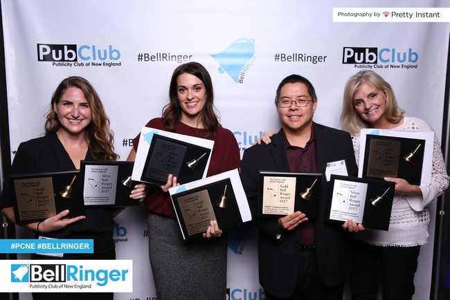 SHIFT Communications was honored with 10 Bell Ringer Awards, including four Gold Bells, at the 49th Annual Bell Ringer Awards Gala.