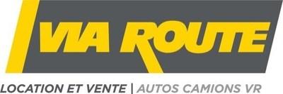 Logo : Via Route location autos et camions (Groupe CNW/Via Route Location d'autos et camions)