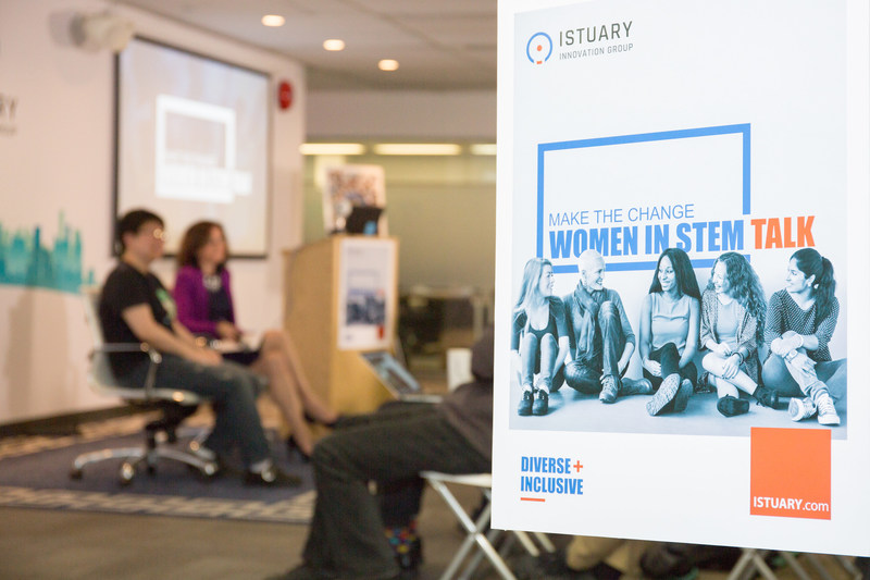 Istuary Innovation Group hosts Make the Change: Women in STEM talks on June 8 (Thursday) from 11:30am to 1:30pm in Vancouver, BC.