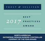 Frost & Sullivan Commends Sonus Networks' Innovation-backed Growth in the Enterprise Session Border Controller Market