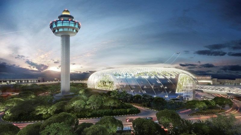 """World's Best Airport"" Unveils Canopy Park At Jewel Changi Airport"