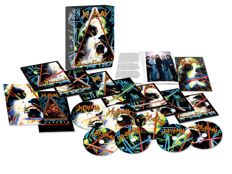Legendary British rock 'n' roll icons Def Leppard celebrate the 30th anniversary of their seminal album Hysteria, one of the best-selling and most influential releases in music history, with the release of Hysteria (Remastered 2017).