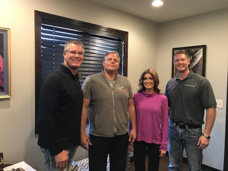 Steve Michael, John Kolb, Jill Van Zee and T.J. Barthman of Phone-n-Fix