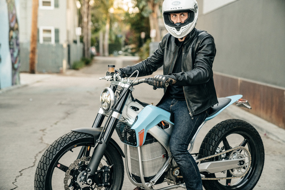 """""""Our sights are set on becoming the de facto platform for the new frontier of lightweight electric transportation,"""" said Marc Fenigstein, CEO and Co-Founder of Alta Motors."""