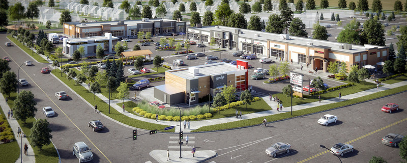 Dream Unlimited unveils new commercial and residential developments in Town of High River (CNW Group/Dream)