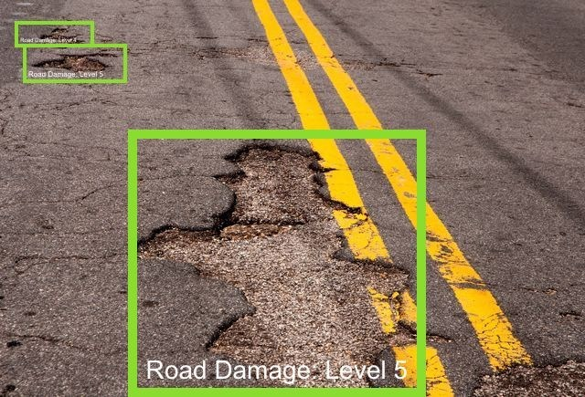 Caruma Technologies and RoadBotics use artificial intelligence and computer vision to identify road damage and other anomalies for more efficient road maintenance.
