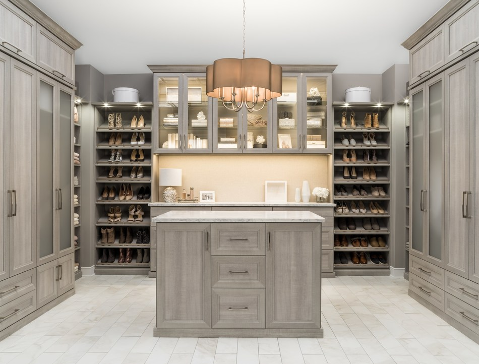 Easy and accessible custom organization from Inspired Closets™ – the only custom closet solution offering a simple four-step process to make it easier than ever to enjoy the benefits of a custom closet.