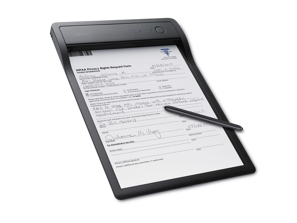 Turn paper documents to digital in real-time with the new Wacom Clipboard.