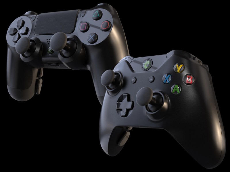 The Evil Shift for Xbox One and PlayStation 4 debuts from Evil Controllers for competitive and pro eSports gamers. The Evil Shift features many advantages that are unbeatable; it's faster, lighter, and the ergonomic paddle placement and interchangeable thumbsticks will instantly improve gameplay.